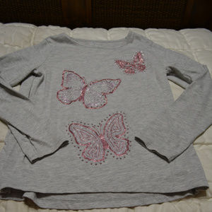 Children's Place butterfly top